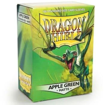 Dragon Shield Sleeves: Matte Apple Green (100)