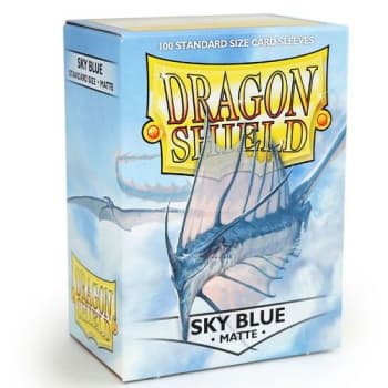 Dragon Shield Sleeves: Matte Sky Blue (100)