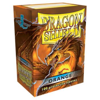Dragon Shield Sleeves: Orange (100)