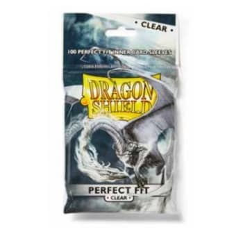Dragon Shield Sleeves: Perfect Fit Clear