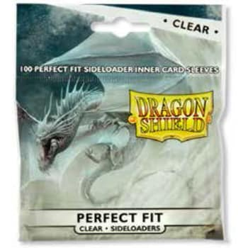 Dragon Shield Sleeves: Perfect Fit Side-Loading Clear