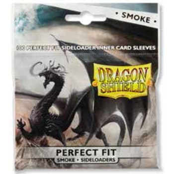 Dragon Shield Sleeves: Perfect Fit Side-Loading Smoke