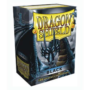 Dragon Shield Sleeves: Black (100)