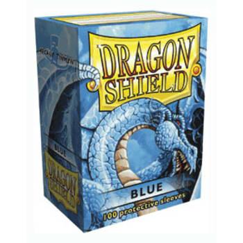 Dragon Shield Sleeves: Blue (100)