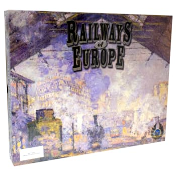 Railways of Europe Expansion