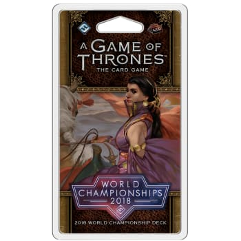 A Game of Thrones LCG: 2018 World Championship Deck