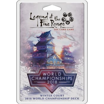 Legend of the Five Rings: Winter Court 2018 World Championship Deck