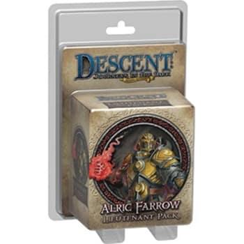 Descent Second Edition: Alric Farrow Lieutenant Miniature Pack