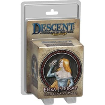 Descent Second Edition: Eliza Farrow Lieutenant Miniature Pack