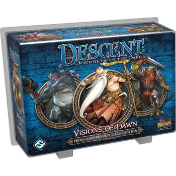 Descent Second Edition: Visions of Dawn Hero and Monster Collection