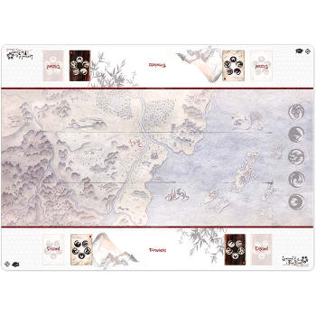 Legend of the Five Rings: Honored Duel Two-Player Play Mat