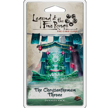 Legend of the Five Rings: The Chrysanthemum Throne Dynasty Pack