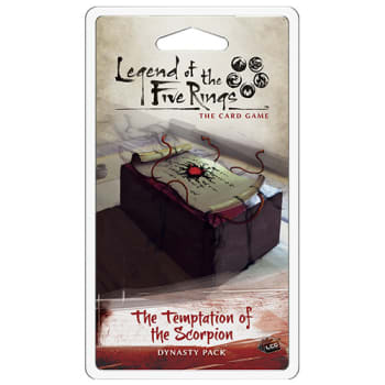 Legend of the Five Rings: The Temptation of the Scorpion Dynasty Pack