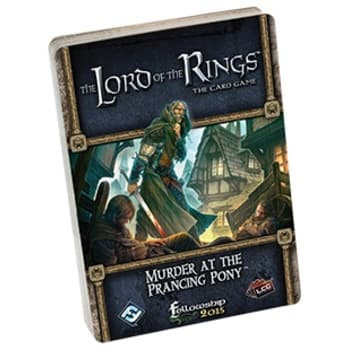 The Lord of the Rings LCG: Murder at the Prancing Pony Adventure Pack