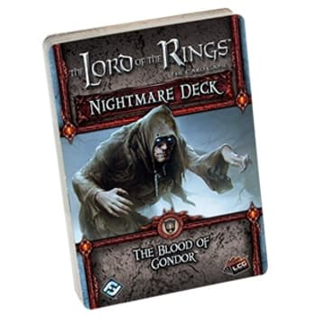 The Lord of the Rings LCG: The Blood of Gondor Nightmare Deck