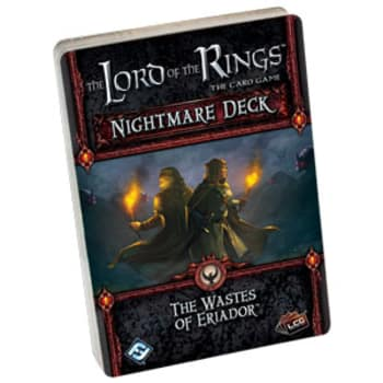 The Lord of the Rings LCG: The Wastes of Eriador Nightmare Deck