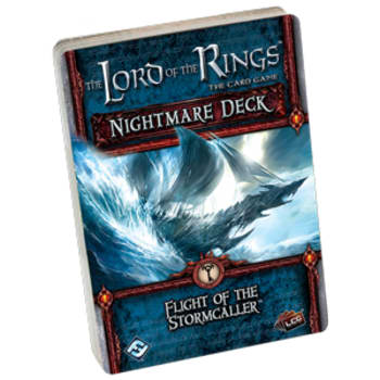 The Lord of the Rings LCG: Flight of the Stormcaller Nightmare Deck