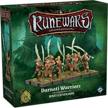 Runewars The Miniatures Game: Darnati Warriors Unit Expansion