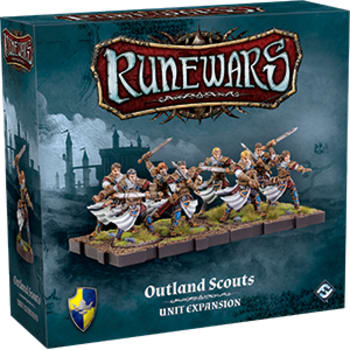Runewars The Miniatures Game: Outland Scouts Unit Expansion