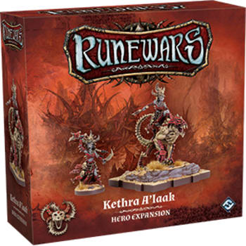 Runewars The Miniatures Game: Kethra A'laak Hero Expansion