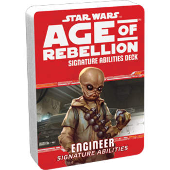 Star Wars: Age of Rebellion: Engineer Signature Abilities Deck