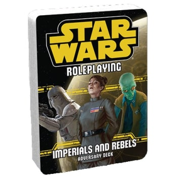 Star Wars Roleplaying Game: Imperials and Rebels Adversary Deck