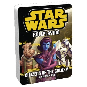 Star Wars Roleplaying Game: Citizens of the Galaxy Adversary Deck