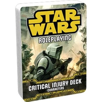 Star Wars Roleplaying Game: Characters - Critical Injury Deck