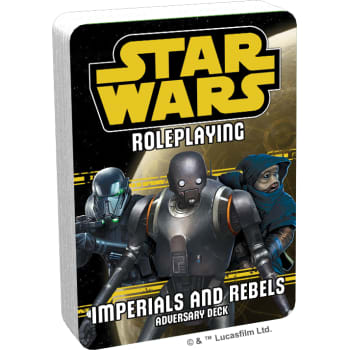 Star Wars Roleplaying Game: Imperials and Rebels Adversary Deck III