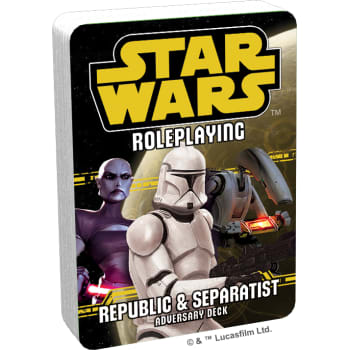 Star Wars Roleplaying Game: Republic and Separatist Adversary Deck