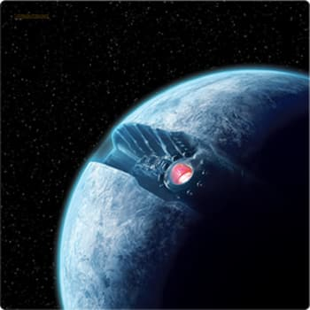 X-Wing: Starkiller Base Game Mat