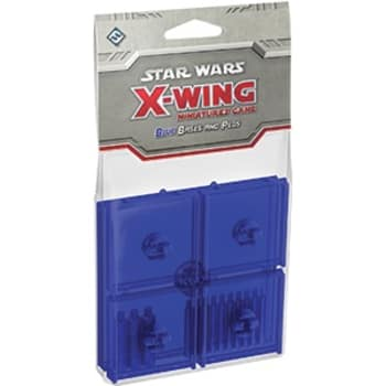 X-Wing: Blue Bases and Pegs