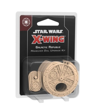 X-Wing Second Edition: Galactic Republic Maneuver Dial Upgrade Kit