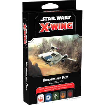 X-Wing Second Edition: Hotshots and Aces Reinforcements Pack