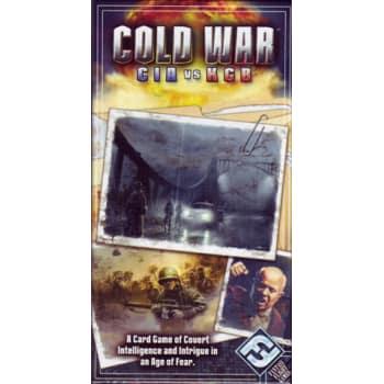 Cold War: CIA vs. KGB Card Game