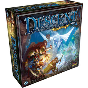 Descent Second Edition: Journeys in the Dark