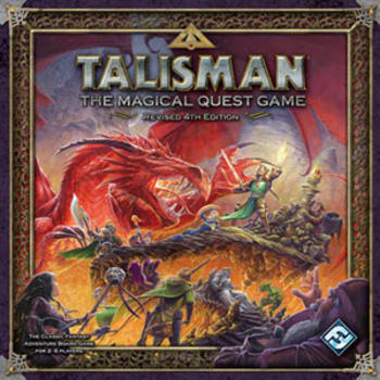 Talisman Revised 4th Edition Board Game