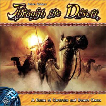 Through the Desert Board Game