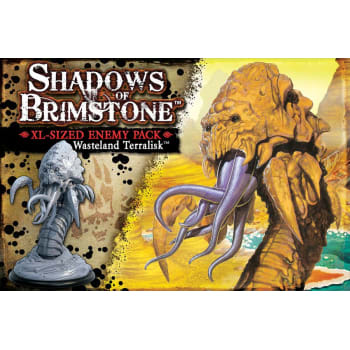 Shadows of Brimstone: Wasteland Terralisk XL Enemy Pack