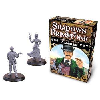 Shadows of Brimstone: Gambler Hero Pack