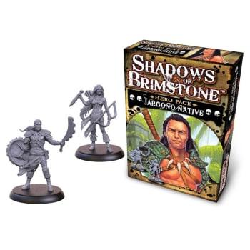 Shadows of Brimstone: Jargono Native Hero Pack