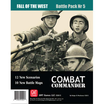 Combat Commander Battle Pack 5: Fall of the West