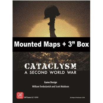 "Cataclysm Mounted Maps and 3"" Box"