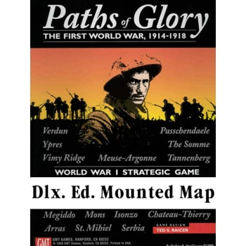 Paths of Glory Deluxe Mounted Map