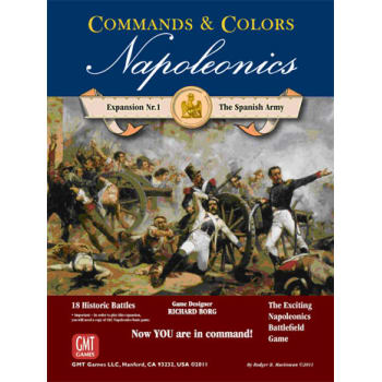 Commands and Colors: Napoleonics Expansion 1: The Spanish Army