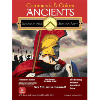 Commands and Colors: Ancients Expansion 6: The Spartan Army