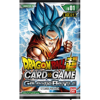 Dragon Ball Super TCG - Galactic Battle  - Booster Pack