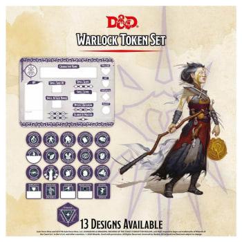Dungeons & Dragons: Warlock Token Set (Fifth Edition)
