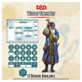Dungeons & Dragons: Wizard Token Set (Fifth Edition)