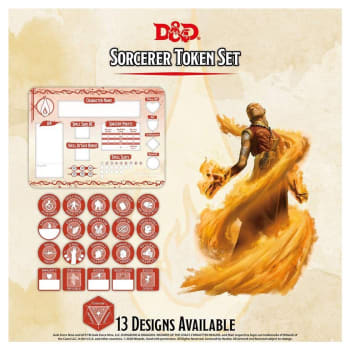 Dungeons & Dragons: Sorcerer Token Set (Fifth Edition)